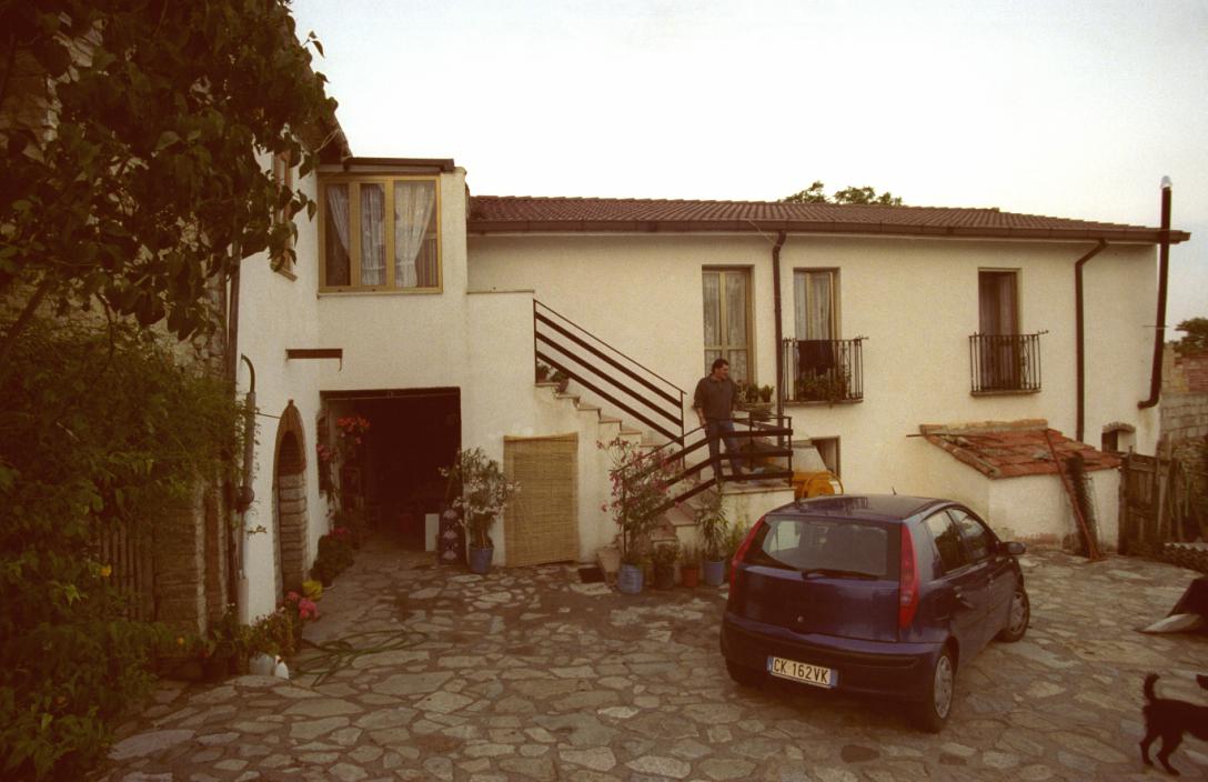 Ma's house, back