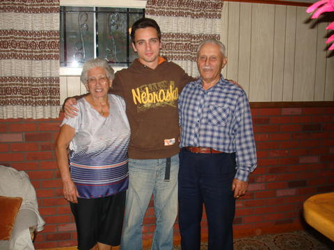 Rafael with my parents