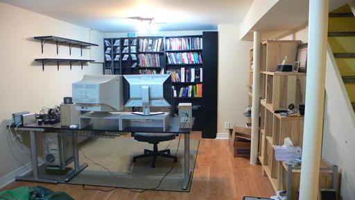 Reid's desk