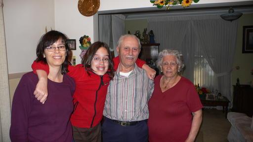 Me, Ronnie, Dad, Mum
